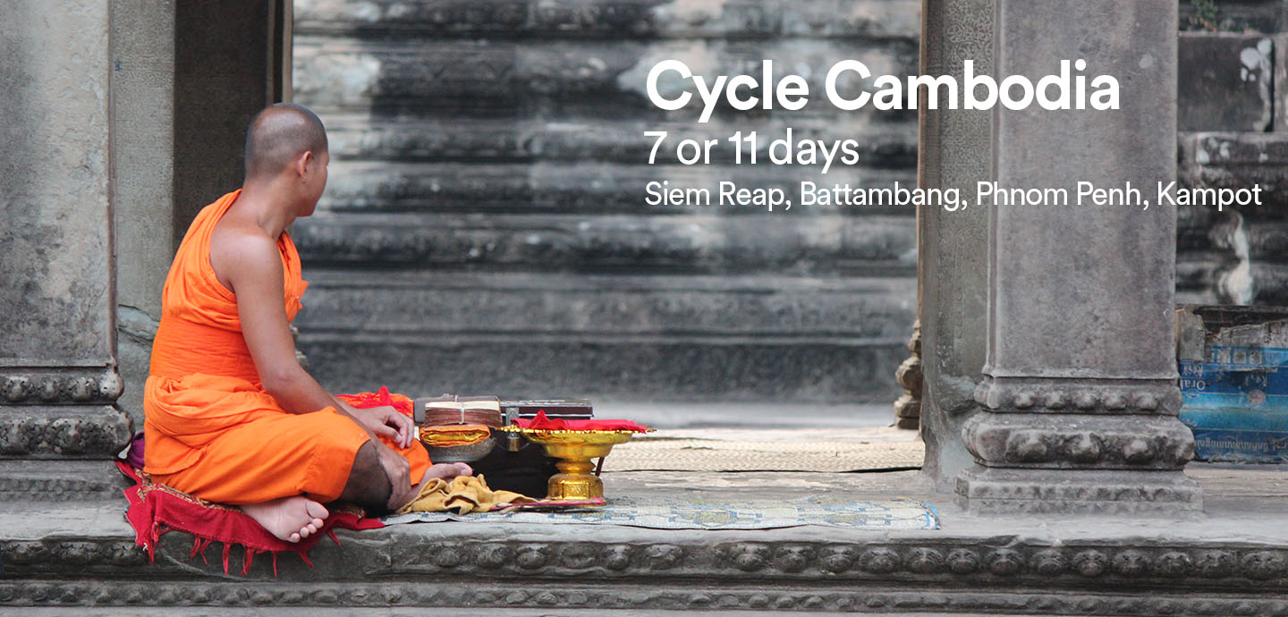 Cycling holidays in Cambodia